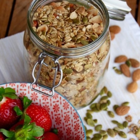 My Favourite Homemade Granola