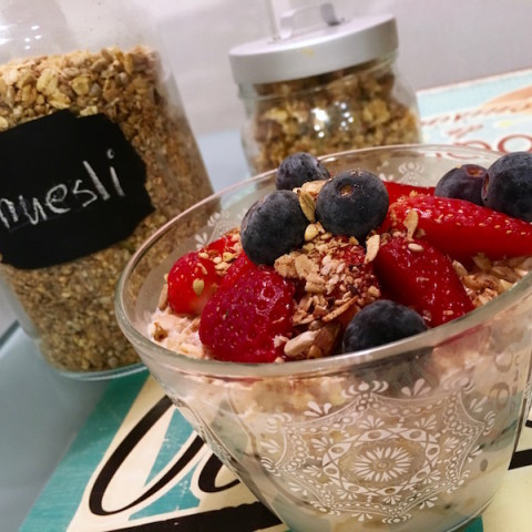 Overnight Oats in 5 minutes!
