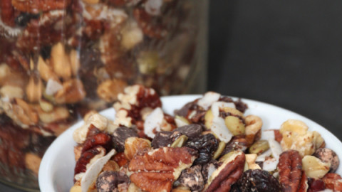 Nutty Chocolaty Trail Mix