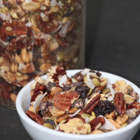 Nutty Chocolaty Trail Mix