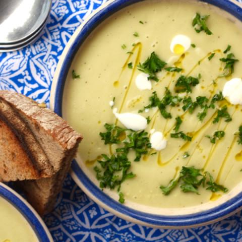 Velouté de Courgettes (Zucchini Soup)